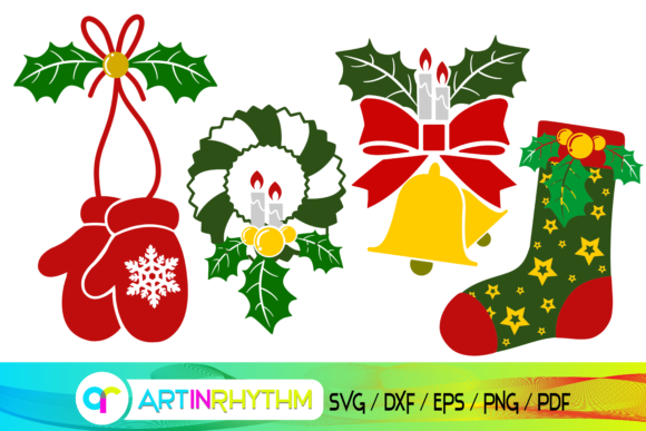Christmas Ornaments Graphic Crafts By artinrhythm