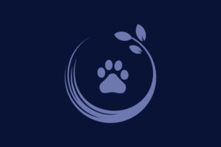 Dog's Foot Logo Template Graphic Logos By byemalkan
