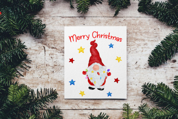 Gnomes Clipart Christmas Clipart Graphic Image