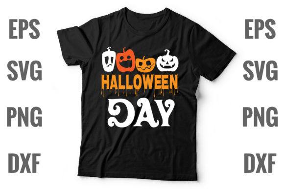 Print on Demand: Halloween Day Graphic Print Templates By Graphics Home.net