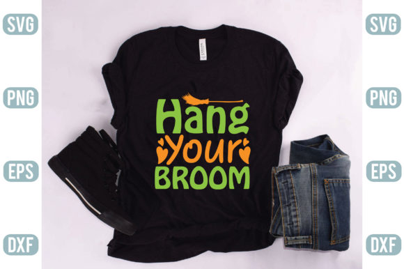 Hang Your Broom Graphic Crafts By creativejasim2