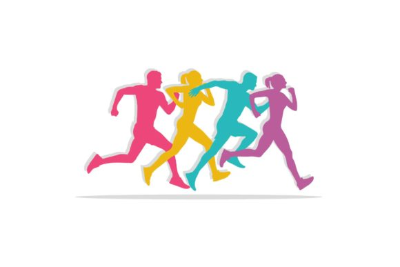 Keep Running People Sport Illustration Graphic Illustrations By sore88