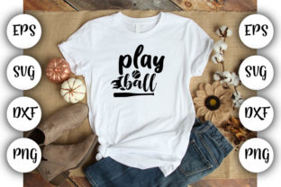 Print on Demand: Play Ball Graphic Print Templates By Design_store