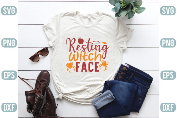Resting Witch Face Graphic Crafts By creativejasim2