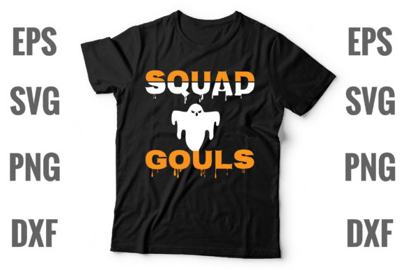 Print on Demand: Squad Ghouls Graphic Print Templates By Graphics Home.net
