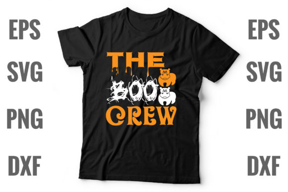 Print on Demand: The Boo Crew Graphic Print Templates By Graphics Home.net
