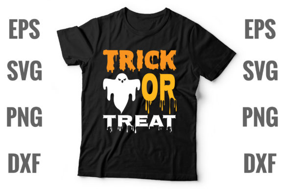 Print on Demand: Trick or Treat Graphic Print Templates By Graphics Home.net