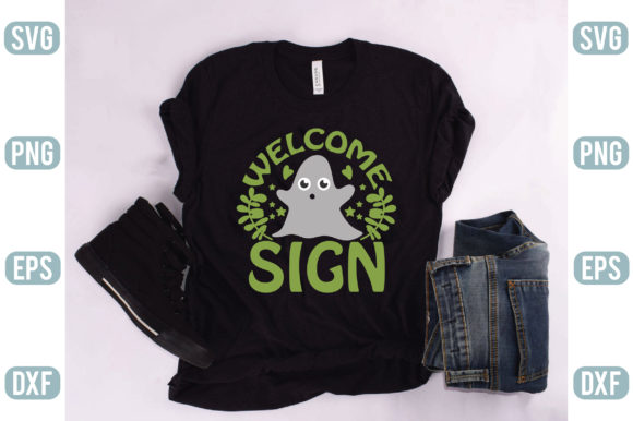Welcome Sign Graphic Crafts By creativejasim2