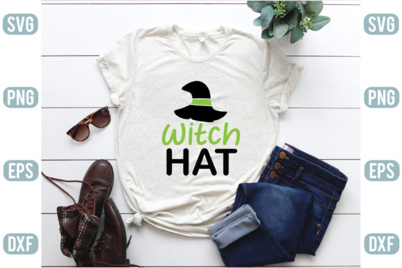 Witch Hat Graphic Crafts By creativejasim2
