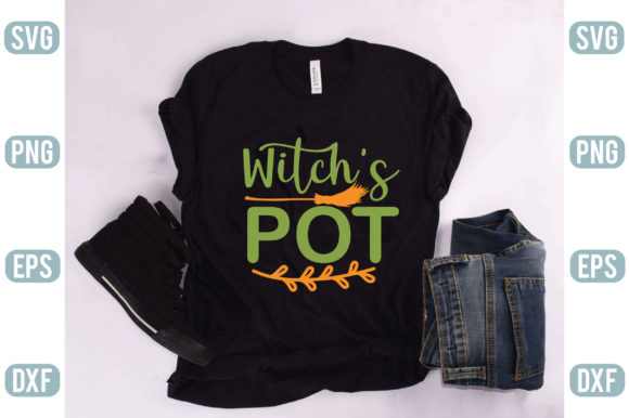 Witchs Pot Graphic Crafts By creativejasim2