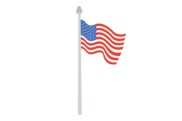 American Flag Independence Day Craft Cut File By Creative Fabrica Crafts
