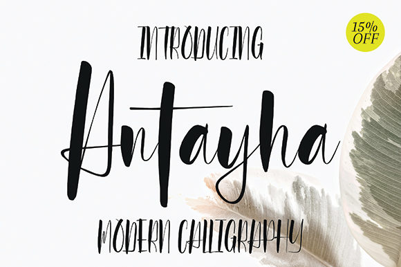 Print on Demand: Antayha Script & Handwritten Font By missinklab