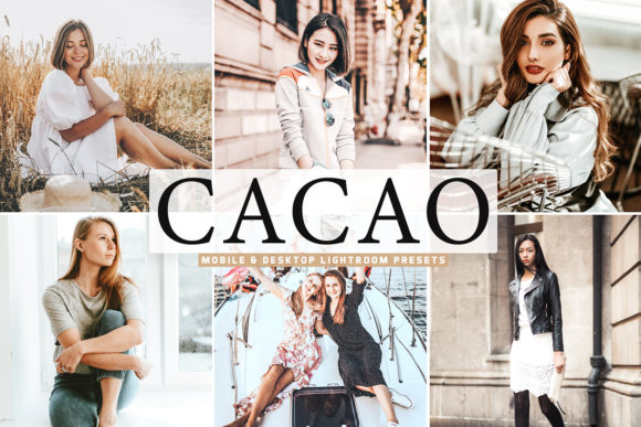 Print on Demand: Cacao Pro Lightroom Presets Graphic Actions & Presets By Creative Tacos