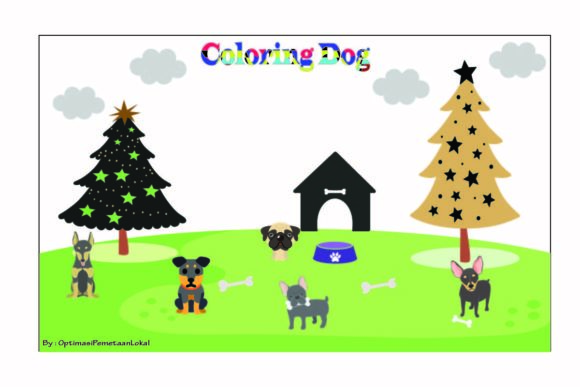 Coloring Pages Christmas Bundle  By optimasipemetaanlokal