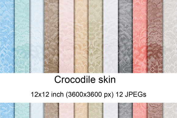 Print on Demand: Crocodile Skin 02 Graphic Textures By Andrea Kostelic