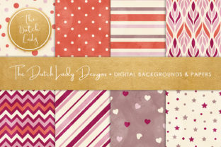 Print on Demand: Distressed Seamless Patterned Papers Graphic Patterns By daphnepopuliers