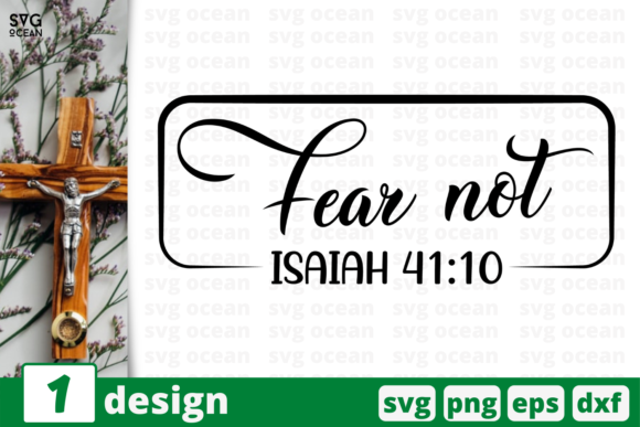 Fear Not Graphic Crafts By SvgOcean