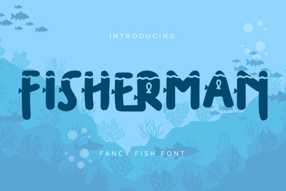 Print on Demand: Fisherman Decorative Font By Vunira