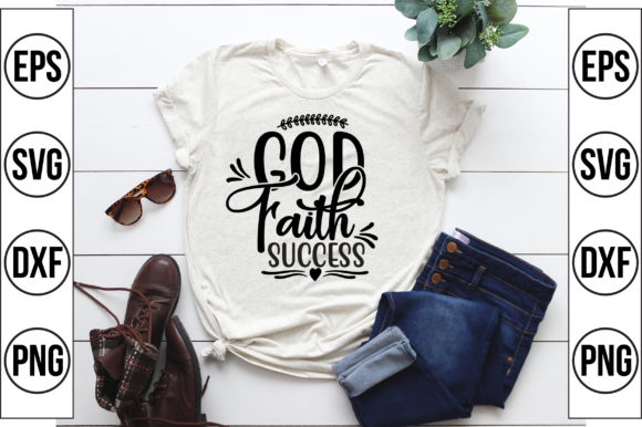 God Faith Success Graphic Crafts By Craft Store