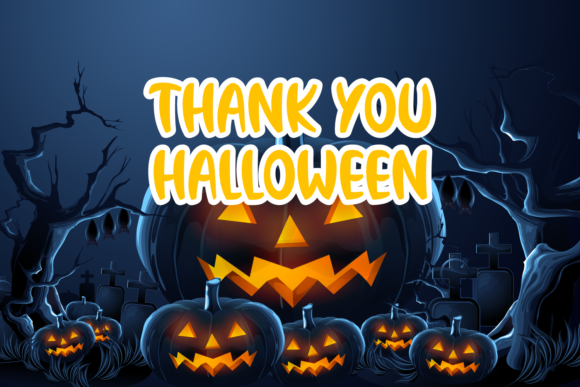 Halloween Haunted Font Preview