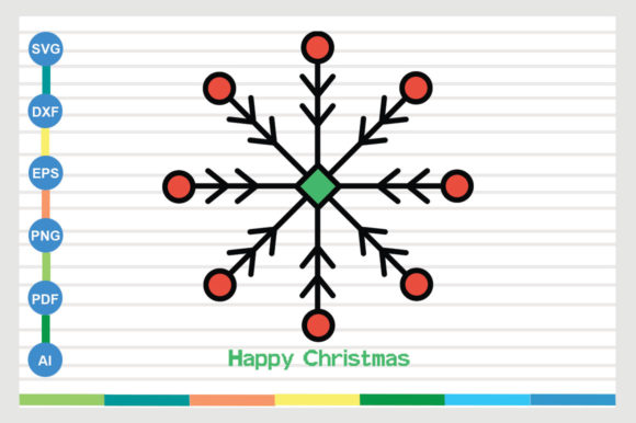 Happy Christmas Graphic Crafts By Galaxy Aart