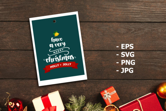 Print on Demand: Have a Very Merry Christmas Graphic Graphic Templates By xdCreative