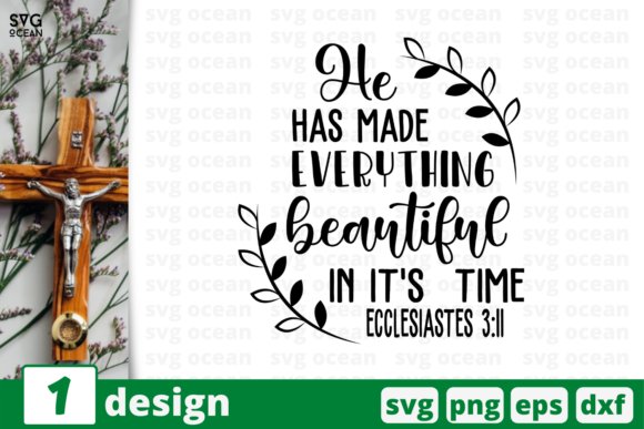 He Has Made Everything Graphic Crafts By SvgOcean