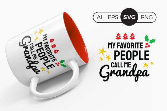 My Favorite People Call Me Grandpa SVG Graphic Crafts By DTCreativeLab