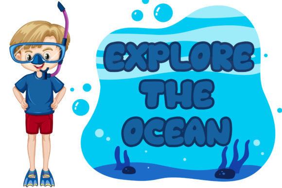 Oceans World Font Design