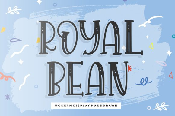 Print on Demand: Royal Bean Display Font By Balpirick