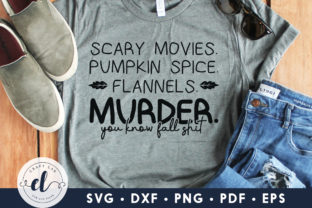 Scary Movies Pumpkin Spice Graphic Crafts By CraftlabSVG