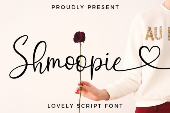 Print on Demand: Shmoopie Script & Handwritten Font By Typesthetic Studio