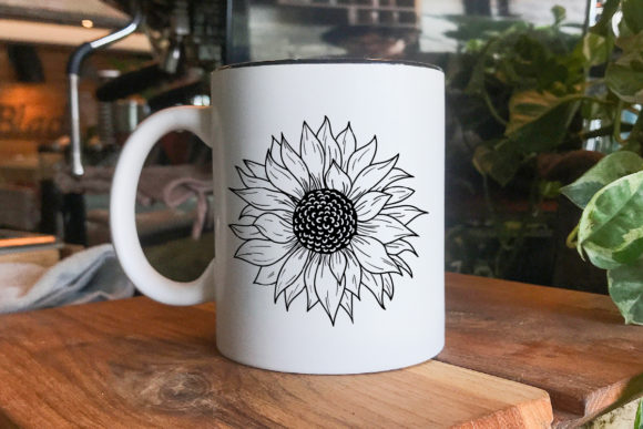 Download Sunflower Svg. Hand Drawing. (Graphic) by Tori Designs ...