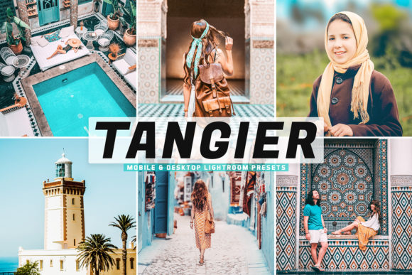 Print on Demand: Tangier Pro Lightroom Preses Graphic Actions & Presets By Creative Tacos