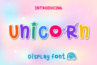 Print on Demand: Unicorn Display Font By Pila Studio