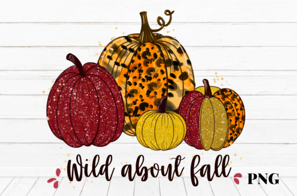 Print on Demand: Wild About Fall Graphic Illustrations By Suda Digital Art