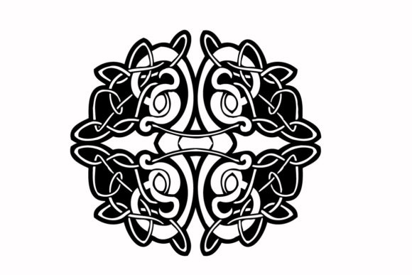 Celtic Clasic Traditional Graphic Illustrations By nisakaart