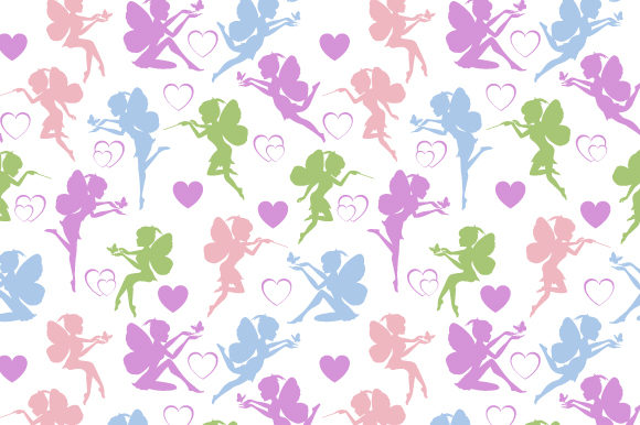 Print on Demand: Pattern Design, with Coloful Fairy Graphic Patterns By curutdesign