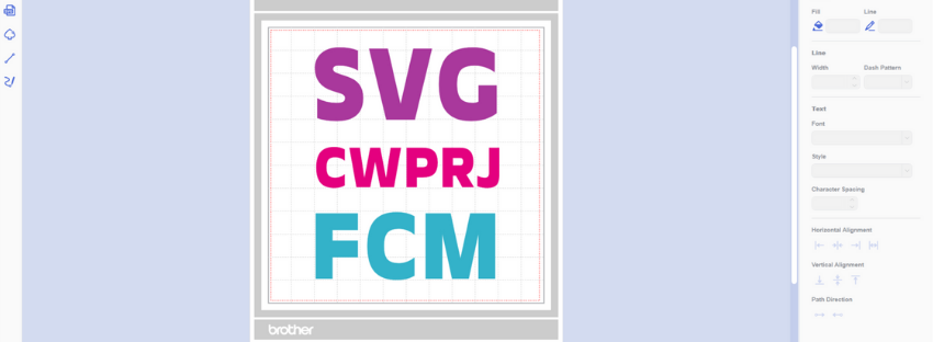 What is the difference between CWPRJ files and FCM files?