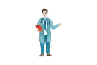 Doctor (male) Medical Craft Cut File By Creative Fabrica Crafts