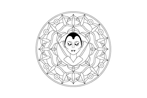 Vampire Mandala Mandalas Craft Cut File By Creative Fabrica Crafts