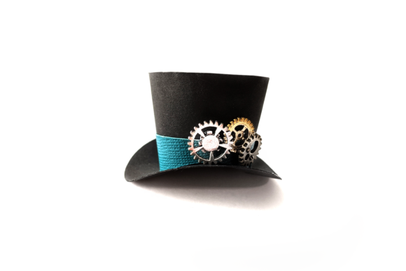 3D Mini Top Hat SVG Graphic Crafts By RisaRocksIt