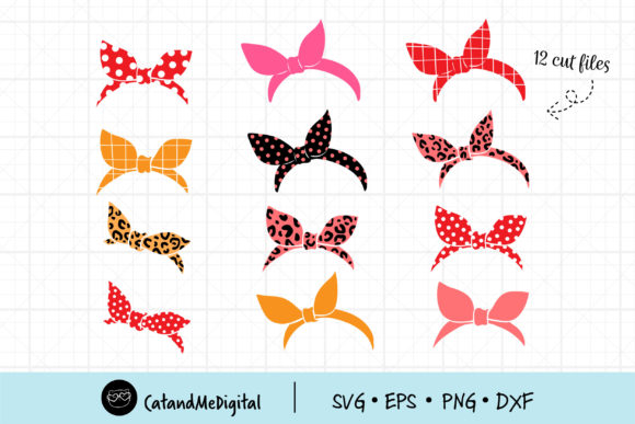 Bandana Svg Cutting File Graphic Objects By CatAndMe