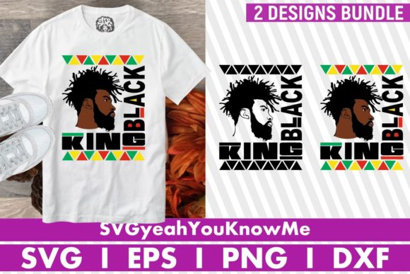 Black King Graphic Crafts By svgyeahyouknowme