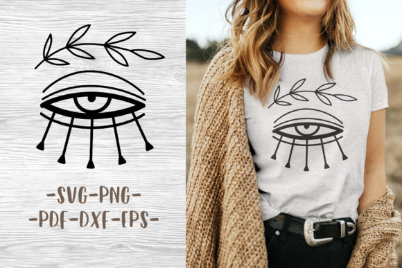 Boho Svg Design for Logo or Print Graphic Crafts By GreenWolf Art