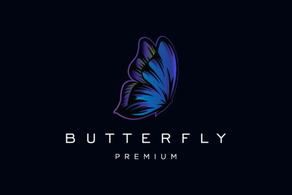 Butterfly Premium Logo Vector Graphic Logos By byemalkan