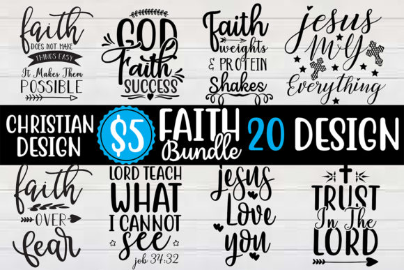 Christian SVG Bundle  By Craft Store