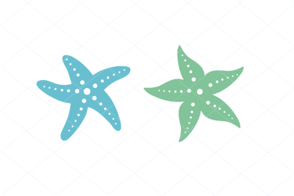 Print on Demand: Cute Starfish Digital File Graphic Nature By TheLoveByrds