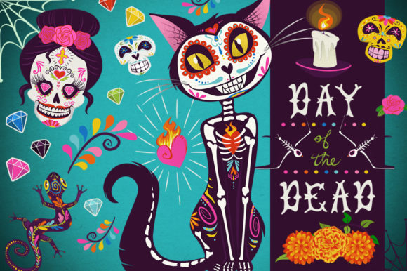 Day of the Dead Collection Graphic