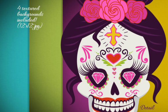 Day of the Dead Collection Graphic Design
